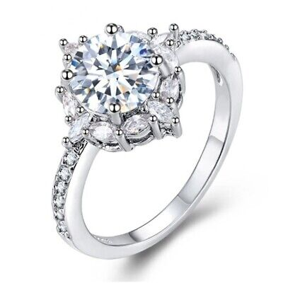 Wedding ring Special moment Best gift Simple Top quality Silver Ring (Best Quality Cz Engagement Rings)