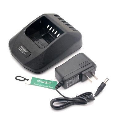 Rapid Charger For Kenwood Nexedge Radio Nx-410 Nx-411 Tk-2180 Ksc-32 Knb-32n