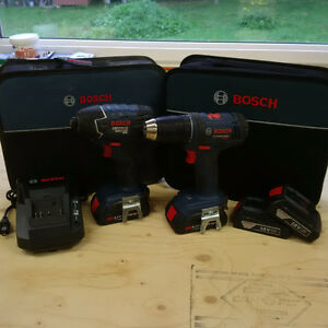 Bosch Cordless Drill & Impact Driver