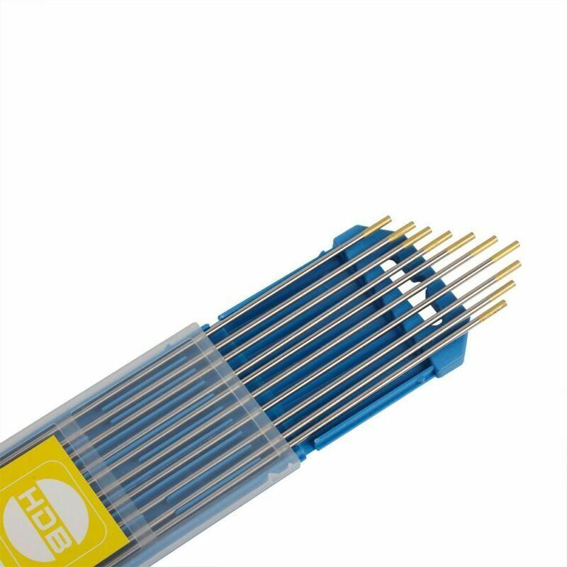 10 Stück Wolfram Elektroden Wolframnadeln Wolfram Elektrode WIG Tungsten Nadel