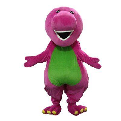 Barney Dragon Mascot Costumes on Adult Size Barney Dinosaur Mascot Costume