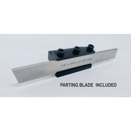 """Lathe Clamp Type Parting Cut Off Tool Holder 12mm Shank With HSS Blade 3/4"""""""