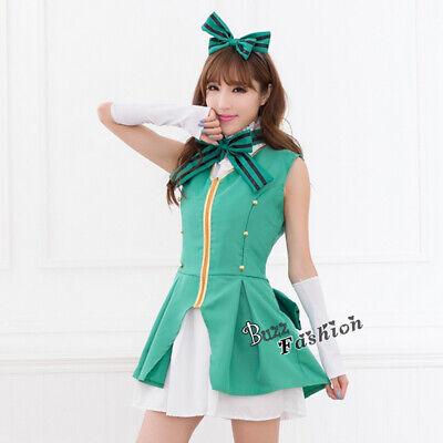 LoveLive Sonoda Umi/ Minami Kotori Cosplay Kostüm Start dash! Maid Kleid Anime
