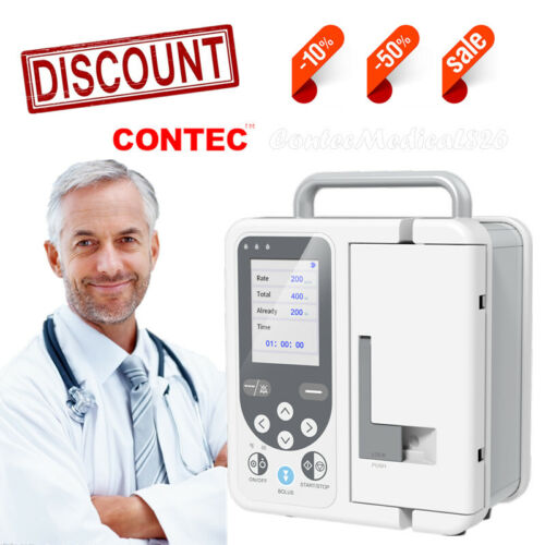 Volumetric Infusion Pump IV & Fluid Syringe Pump Equipment Alarm & Calibration