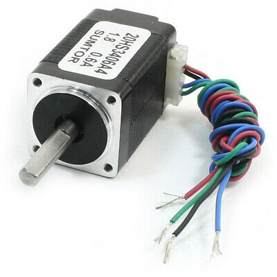 Nema8 4 Lead Cnc Router Mill Stepping Stepper Motor 34mm 0.6a 2.5oz.in Y8x6