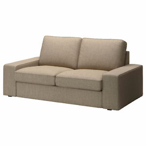 Ikea Kivik cover for two-seat sofa (Loveseat) Insunda beige. New