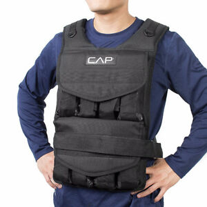 CAP Barbell Adjustable Weighted Vest 50 lbs