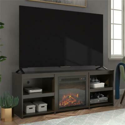 Ameriwood Home Alan View Fireplace TV Stand for TVs up to 65