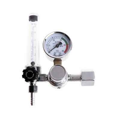 Metal Welding Gas Argon Co2 Pressure Flow Meter Regulator Mig Tig Mag Weld Gauge