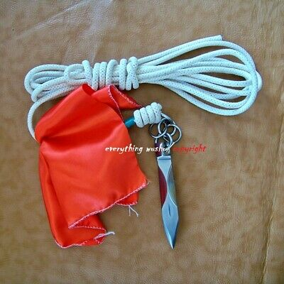 Martial Arts Rope Dart Shaolin Soft Weapon Meteor Dart Kung Fu Darts with Rope
