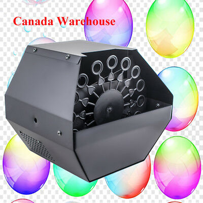 Safty Automatic Bubble Machine Blower Maker For DJ Stage Wedding Party Romantic