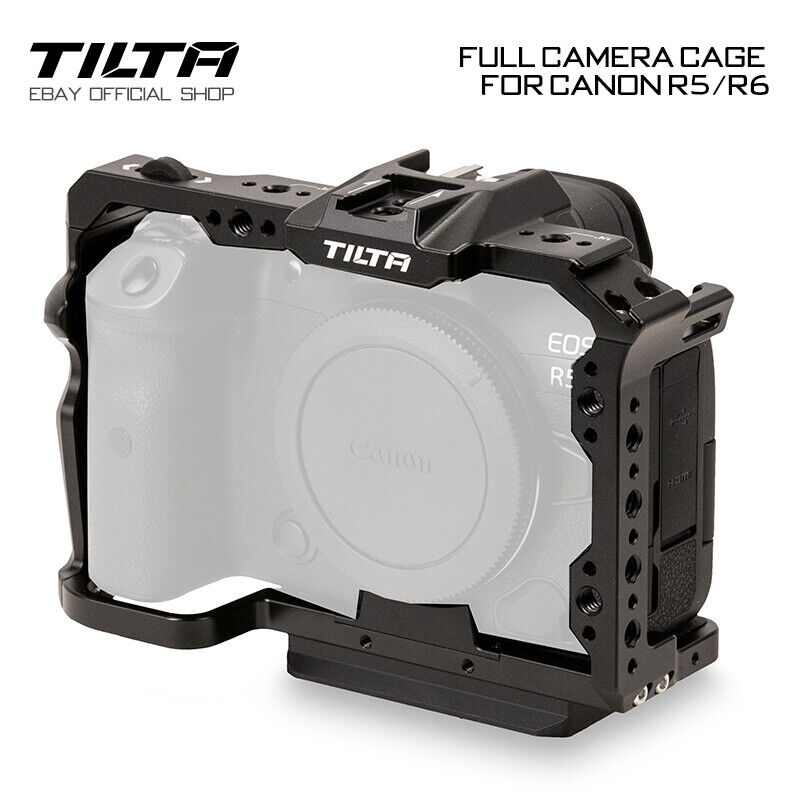 Tilta Full Camera Cage Rig Canon R5/R6 Handle Holder Stabilizer For Canon R5/R6