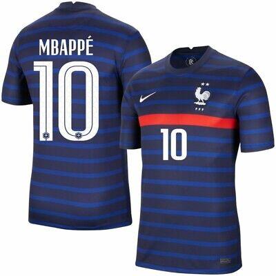 Camiseta Nike Selección Francesa Local 2020-2021 MBAPPE 10 Talla L