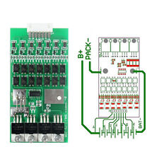 24V 20A 7s Cells W//Balancing Li-ion Lithium 18650 Battery BMS Protection Board C
