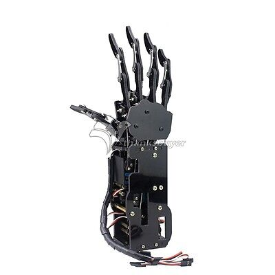 Robot Mechanical Arm Claw Humanoid Right Hand Five Fingers With Servos Assembled