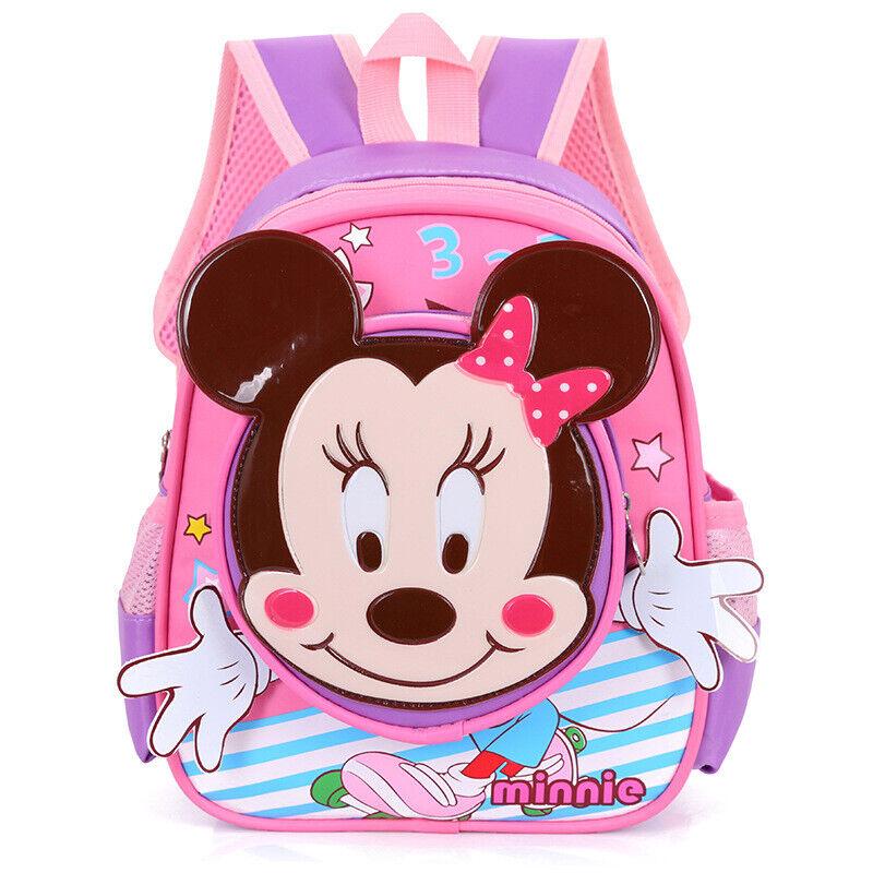Mädchen Jungen Mickey Mouse Minnie Vorschule Schultasche Rucksack Cartoon Tasche