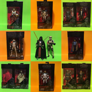 "Star Wars The Black Series 6"" Action Figure Lot"