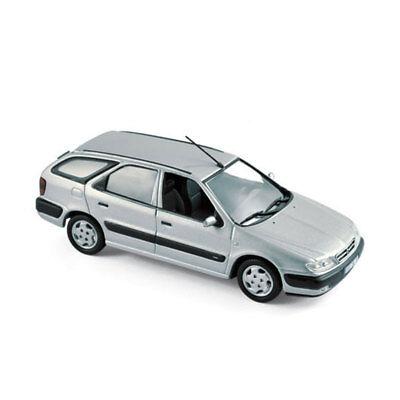 Citroen Xsara Break Kombi Silber Grau 1997-2006 1//43 Norev Modell Auto mit ode..