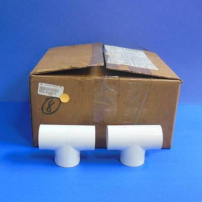 Spears 1-14 Dia Pvc Tee Pipe Fitting 401-012 New Lot Of 8