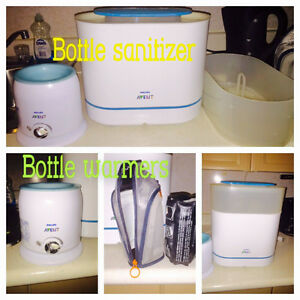 Bottle Sanitizer and 2 Warmers