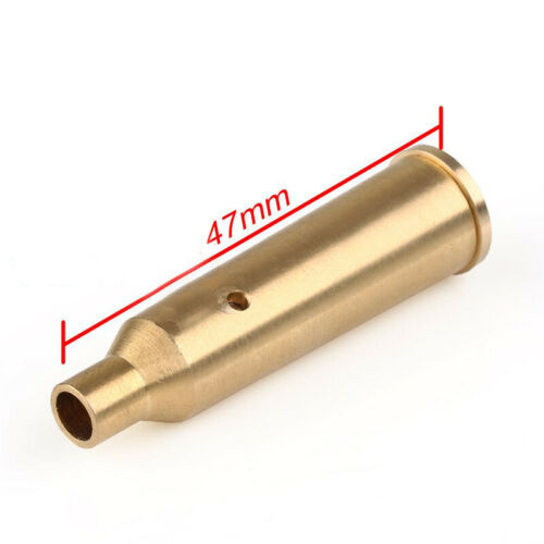 Tactical 22-250cal Cartridge Red Dot Laser Sight Boresighter Red Sight Laser