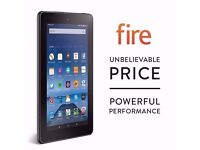 AMAZON FIRE 7 WIFI 8GB TABLET BRAND NEW SEALED WITH WARRANTY & RECEIPT