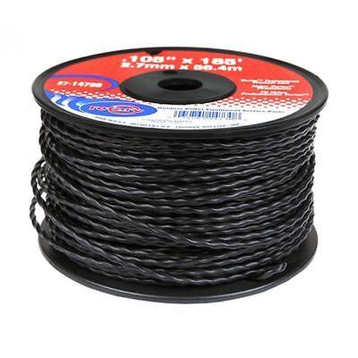Black Vortex Professional String Trimmer Line .105 X 185