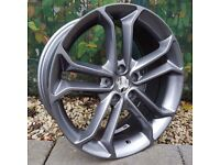 "18"" ST3 Style alloys wheels on tyres will fit Focus Mondeo Transit connect Etc"