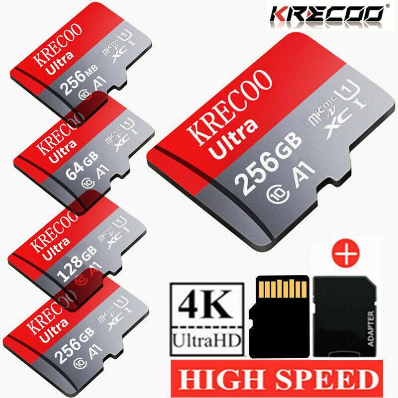 256GB 128GB 64GB  Micro SD Micro Card 275MB/S Class10 TF SDXC Card with Adpather