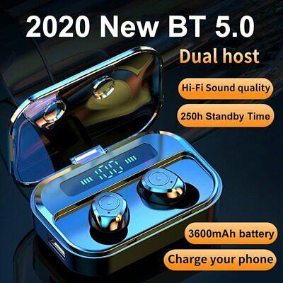 Bluetooth 5.0 Headset TWS Wireless Earphone Mini Sport Earbuds Stereo Headphones