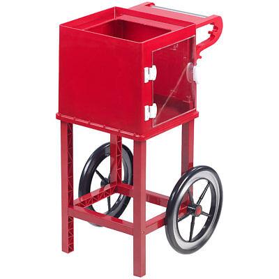 Rollwagen im Retro-Design für Popcorn-Maschine