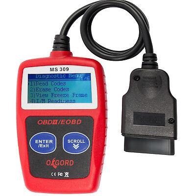 OBDII Scanner Code Reader CAN OxGord MS300 OBD2 Scan Tool Diagnostic