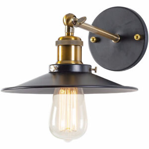 Cressley Sconce Matte Black and Bronze by Light Society - NEW