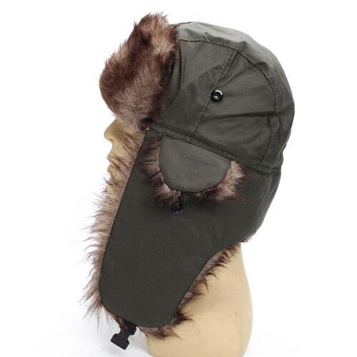 Men Bomber Winter Hat Lining With Ski Cap