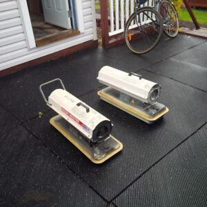 Kerosene Forced Air Heaters