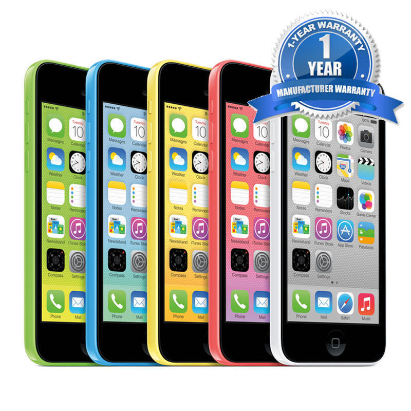 NEW APPLE IPHONE 5C FACTORY UNLOCKED WIFI DUAL CORE SMARTPHONE