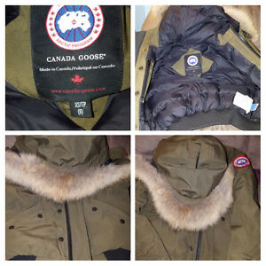 Army Green Canada Goose
