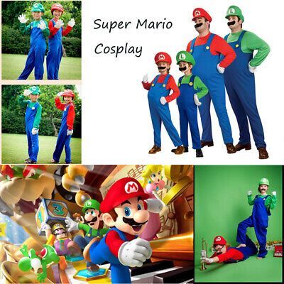 Funny Cosplay Costume Dress Up Party Cute Costume Clothes Plumber Halloween Suit](Funny Dress Up)
