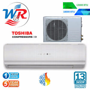 THERMOPOMPE MINI-SPLIT MURAL12000 BTU SEER 13 Inst. de base Inc.