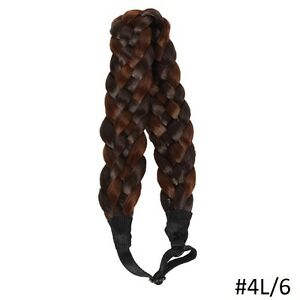 Adjustable natural Braided Hair Headband,Hair extensions Yellowknife Northwest Territories image 5