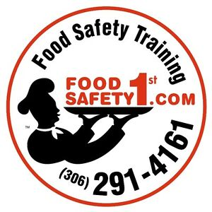 Food Safe Certificate - Saskatchewan's Food Safety 1st Inspector Regina Regina Area image 1