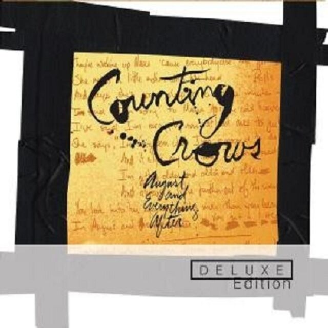 """COUNTING CROWS """"AUGUST AND EVERYTHING..."""" 2 CD DELUXE"""