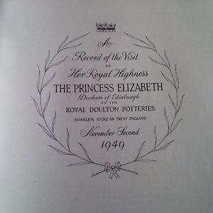A Record of the Visit of The Princess Elizabeth, 1949 Kitchener / Waterloo Kitchener Area image 2