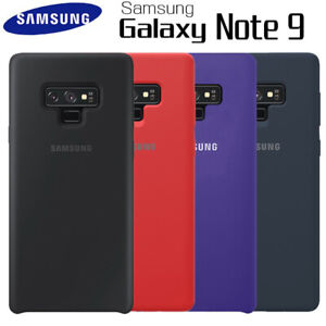 Cover Silicone Samsung Galaxy Note 9 * Tempered Glass * NEUFS