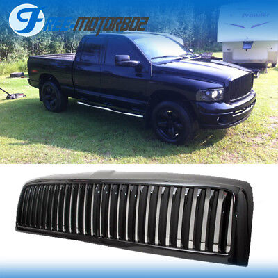Fits 94-01 Dodge RAM Pickup Truck 1500 94-02 2500 3500 Front Black Grille Grill