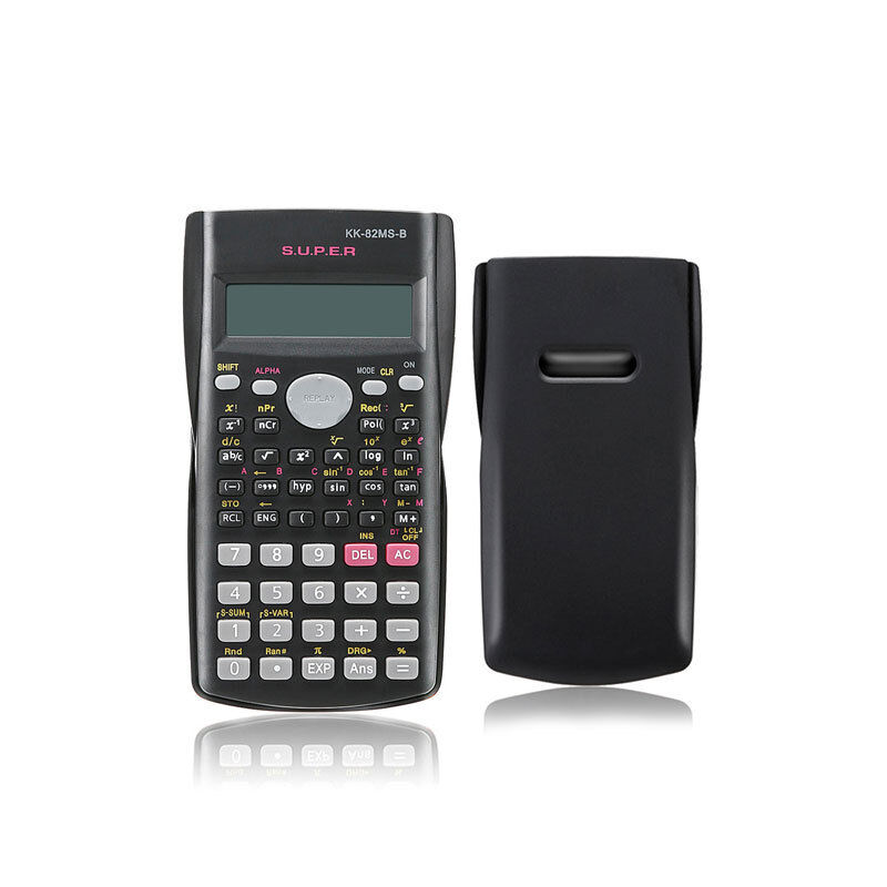 82MS-B Handheld Scientific Calculator For Mathematics Education Students