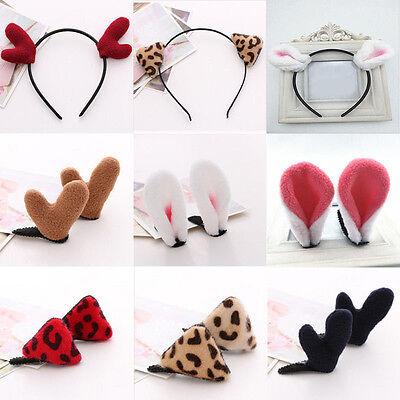 Animal Ear Headband Hair Band Party Lady Cartoon Hairband Hair Accessories - Animal Ear Headbands