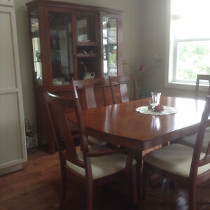 Dining Room Set and Cabinet