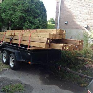 bois traite 6x6x16