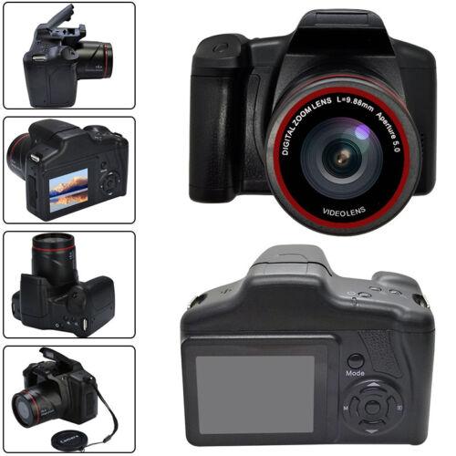 Digitale Spiegelreflexkamera 1080P SLR Digitalkamera 16X Zoom Full-HD TFT Kamera